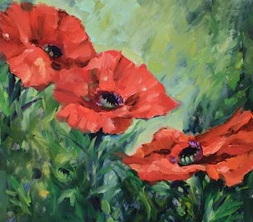 Nancy medina art poppy season flower painting by texas artist nancy poppy season flower painting by texas artist nancy medina mightylinksfo