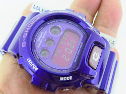 CASIO G-SHOCK DW-6900CC PURPLE BNB