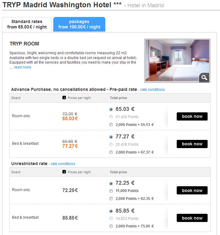 TRYP Madrit by Meliá Rewards Madryt hotel