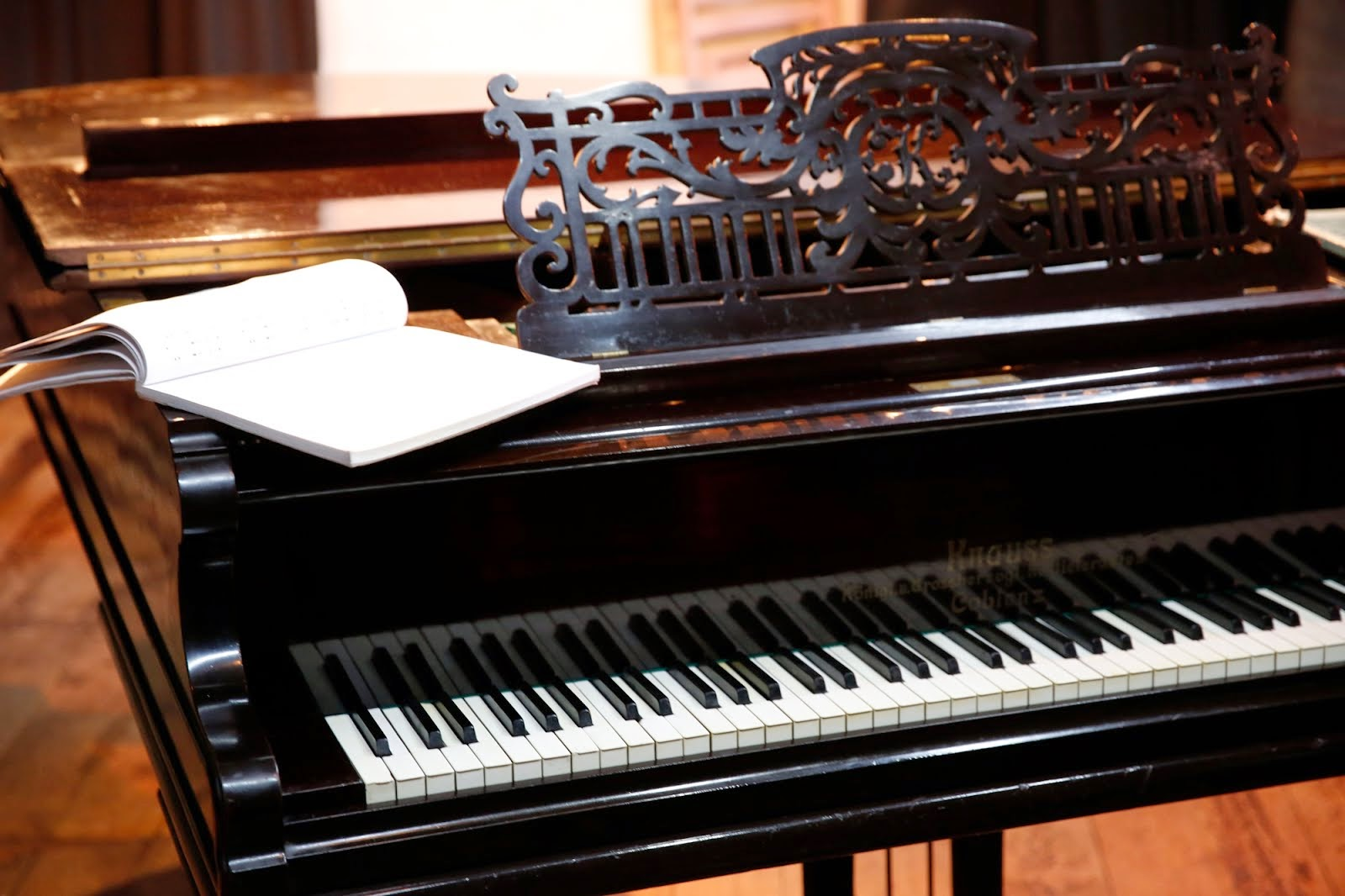 Piano para conciertos.