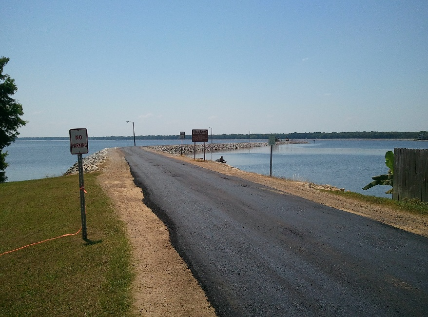 Ross barnett reservoir red dot road paved for Ross barnett reservoir fishing report