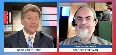 Stanton Friedman on Newsmax TV (July 2015)