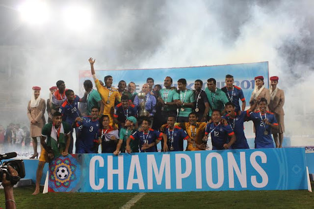 India win SAFF Suzuki Cup 2015