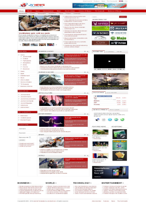 Share template JV News II - Joomla 1.5