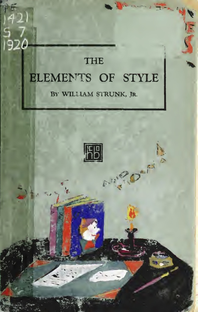 elements of style illustrated pdf