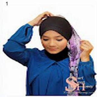 Cara Memakai Jilbab Kreasi Jilbab Shwal Summer