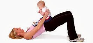 Cara mengecilkan perut setelah melahirkan
