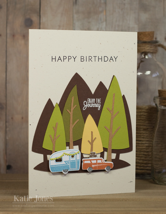 Crafting With Katie Camper Birthday Card