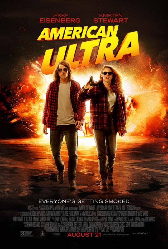 American Ultra 2015 poster