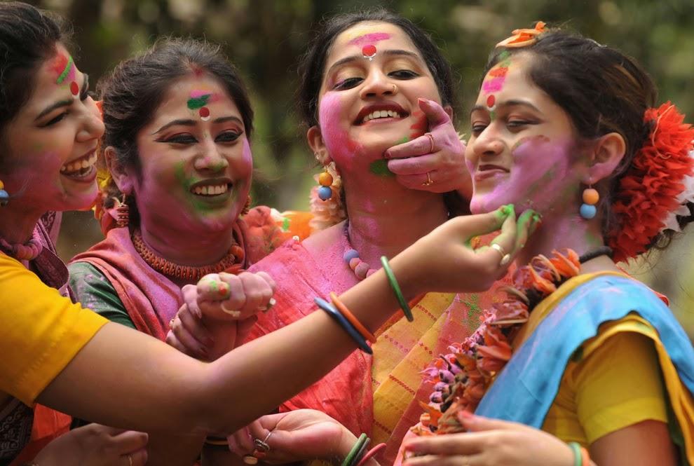 Bengali  Holi song