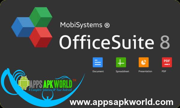 OfficeSuite 8 Pro + PDF Converter v8.1.2741 Cracked Modded APK