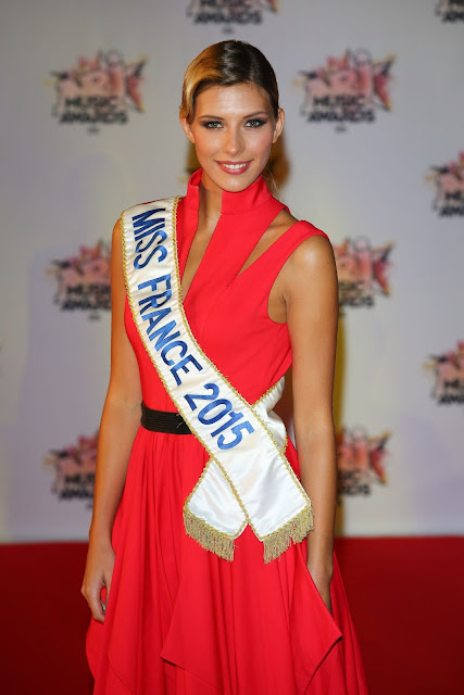 Miss France, Model @ Camille Cerf - NRJ Music Awards in Cannes, France