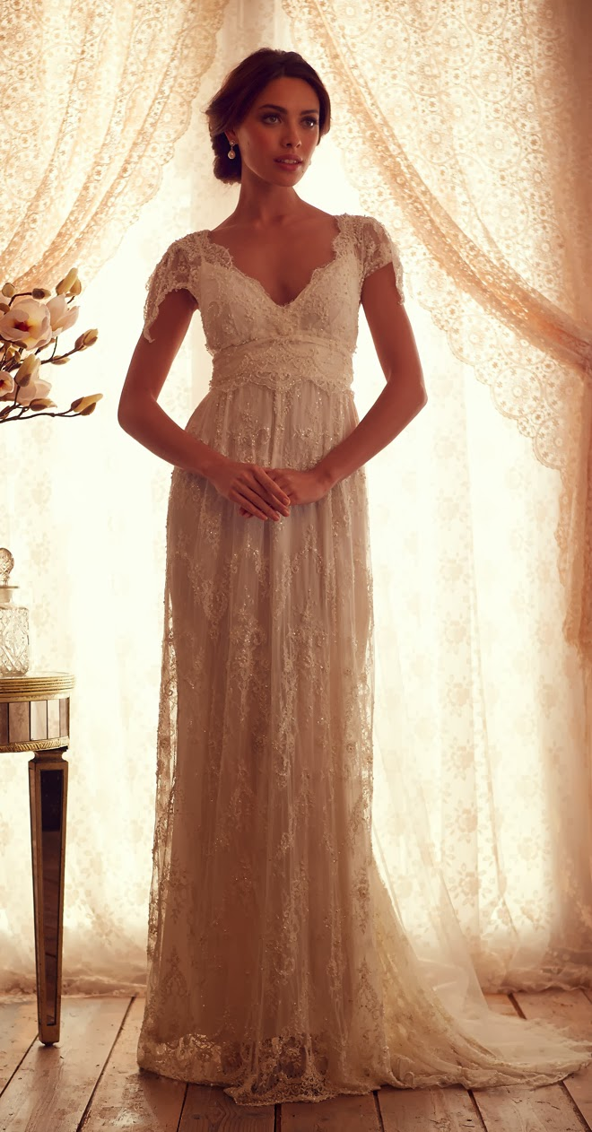 Anna campbell 2013 gossamer collection part 1 belle for Anna campbell wedding dress used