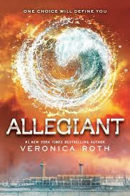 Last in the Divergent Trilogy, Allegiant by Veronica Roth