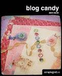 Blogcandy hos Scraplagret