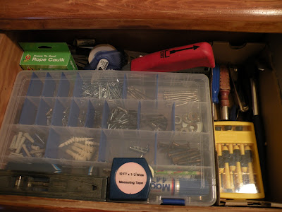 Tool drawer organization