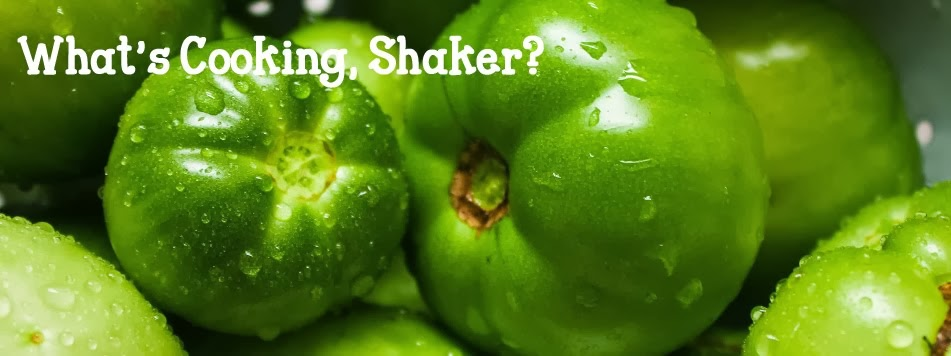 What's cooking, Shaker?