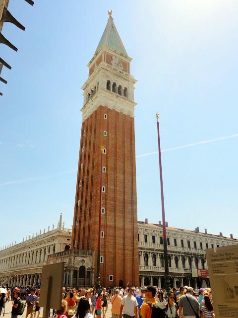 The Campanile di San Marco in Piazza San Marco, Venice, Italy
