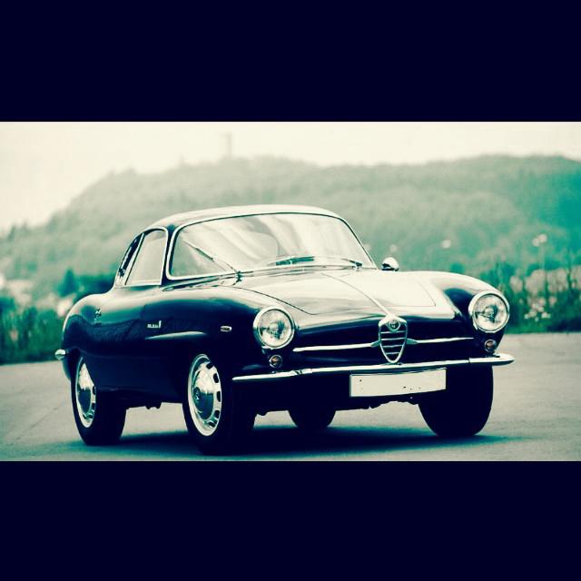 Classic Car Coffee Break: ALFA ROMEO GIULIA 1600 SPRINT