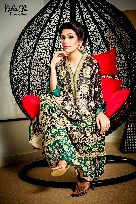 Ganga Jamni Luxury Formal Dresses Collection 2014