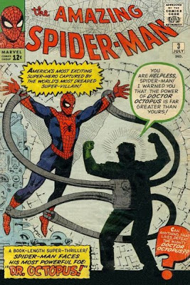 Amazing Spider-Man #3, Dr Octopus makes his first appearance
