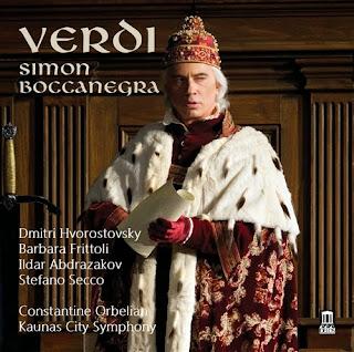 CD REVIEW: Giuseppe Verdi - SIMON BOCCANEGRA (DELOS DE 3457)