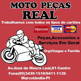 MOTO PEÇAS REAL