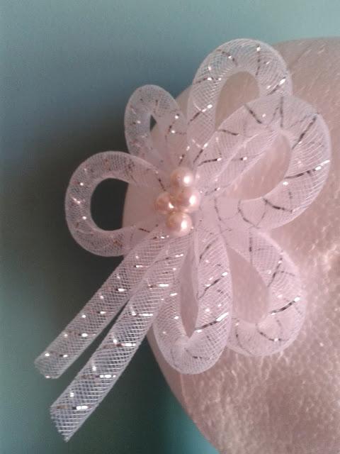 tocado de novia barato, tocado de novia económico, tocado con tonos plata, tocado con perlas, tocado en forma de lazo, tocado de novia 2014