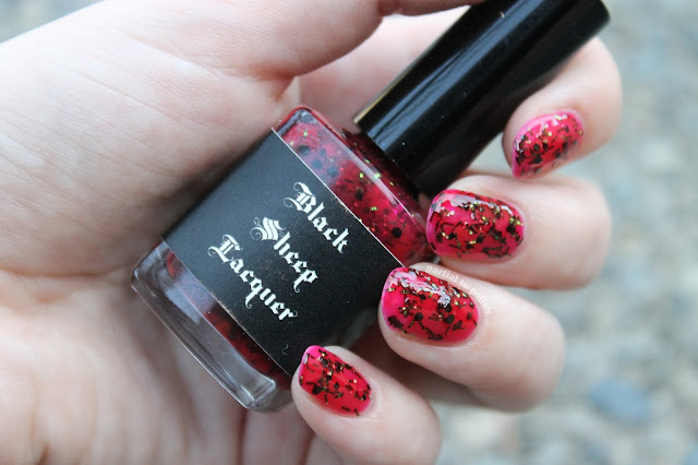 Black Sheep Lacquer Strawberry