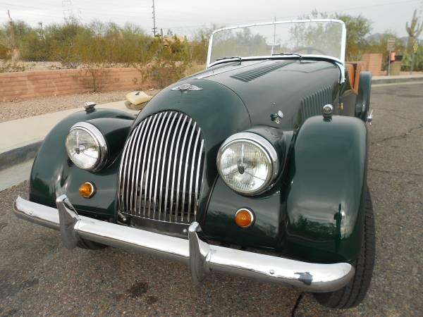 Freshly Restored, 1960 Morgan Plus 4