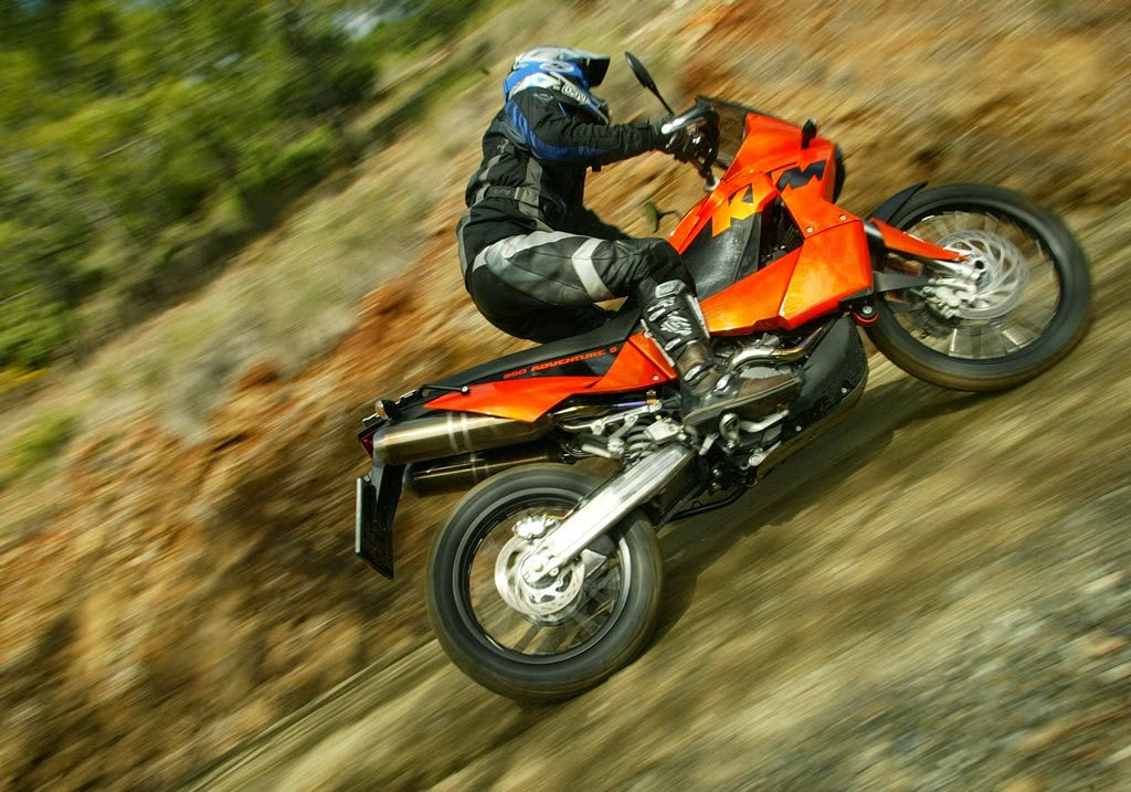 KTM 950 Adventure S Orange Bikes Images