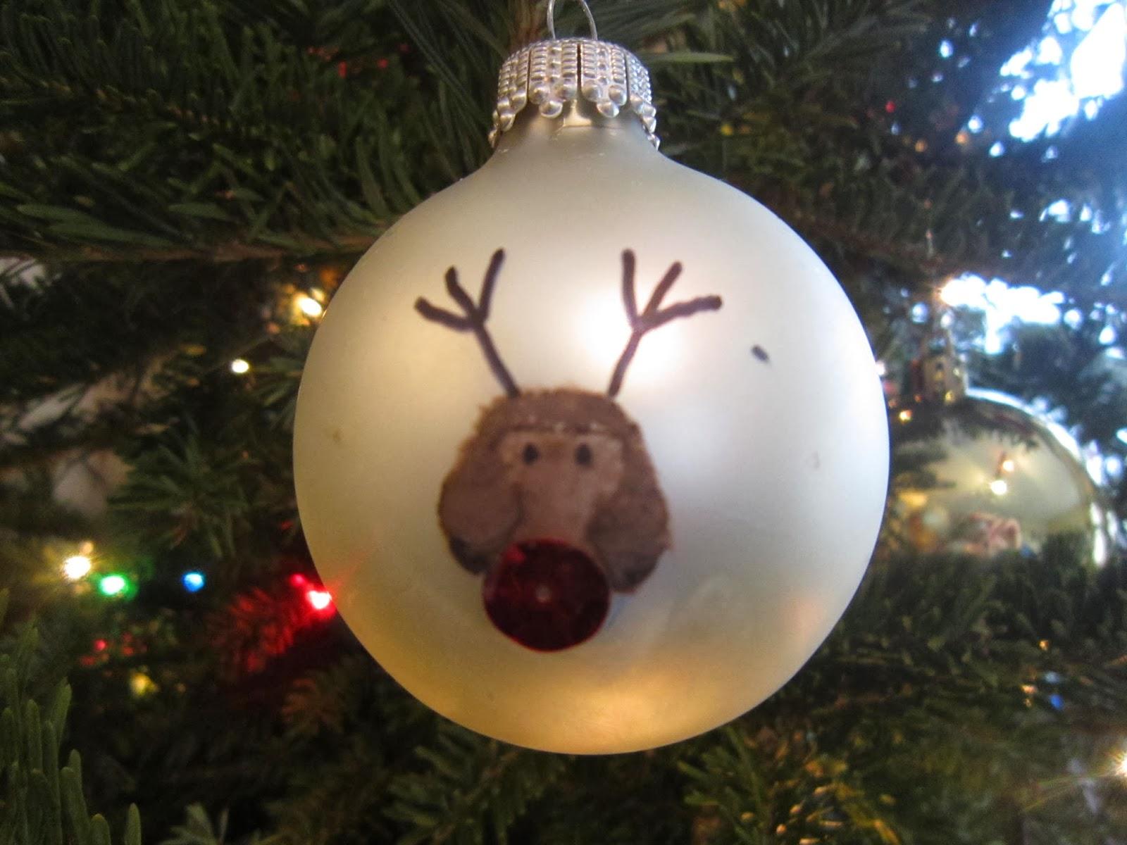 Christmas, crafts, kids crafts, thumbprint crafts, Christmas tree