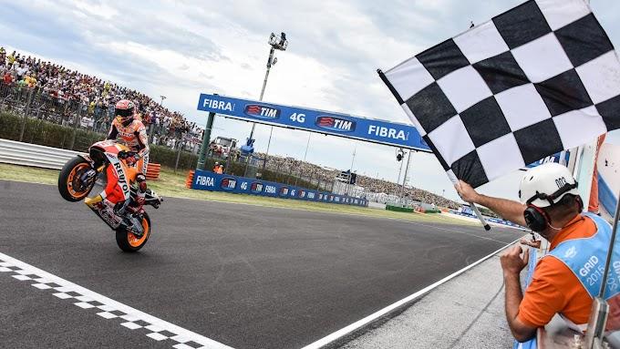 Race MotoGP Seri 13 San Marino - Cuaca Membuyarkan Semua