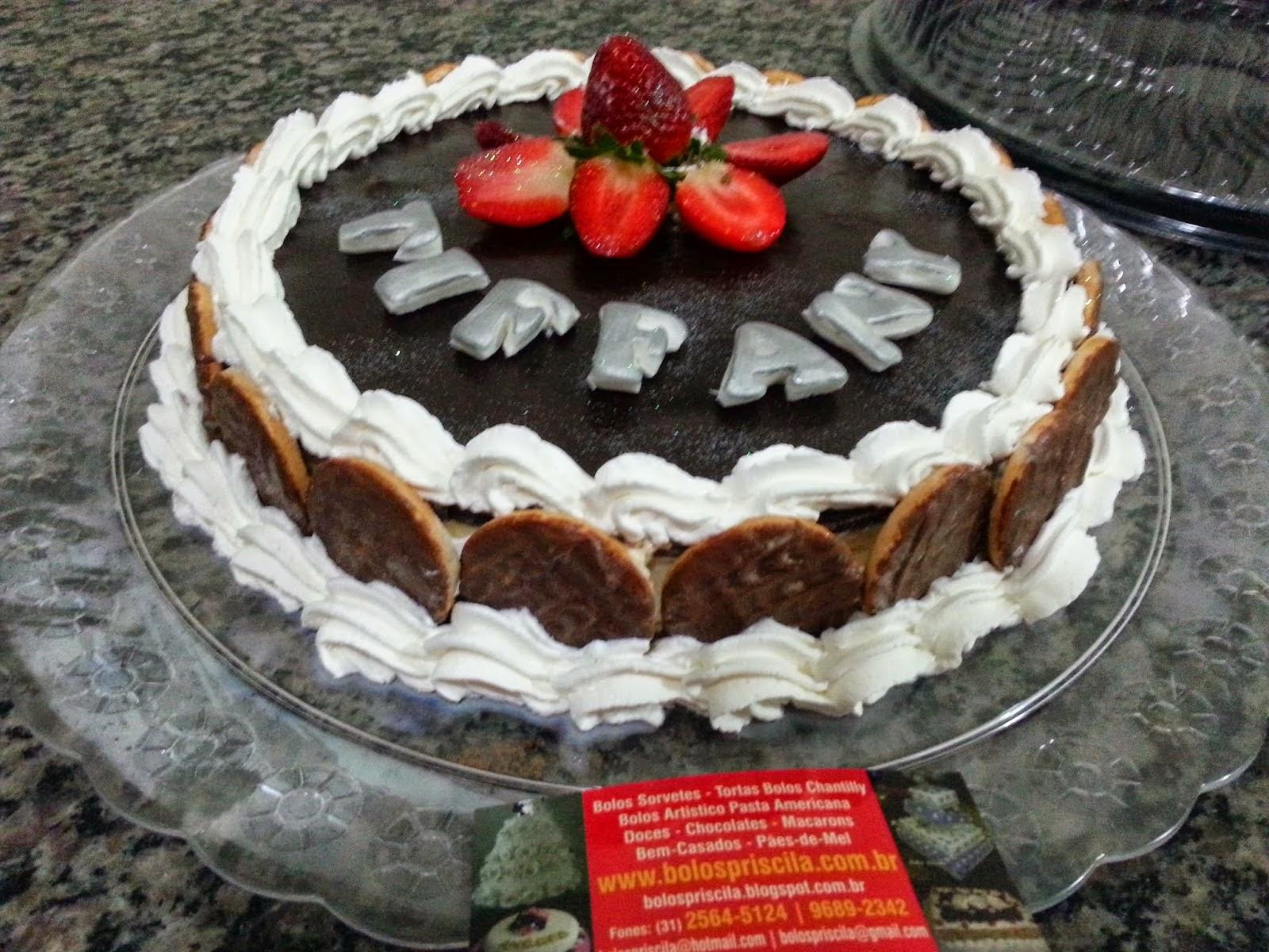 Torta Holandesa de Morangos