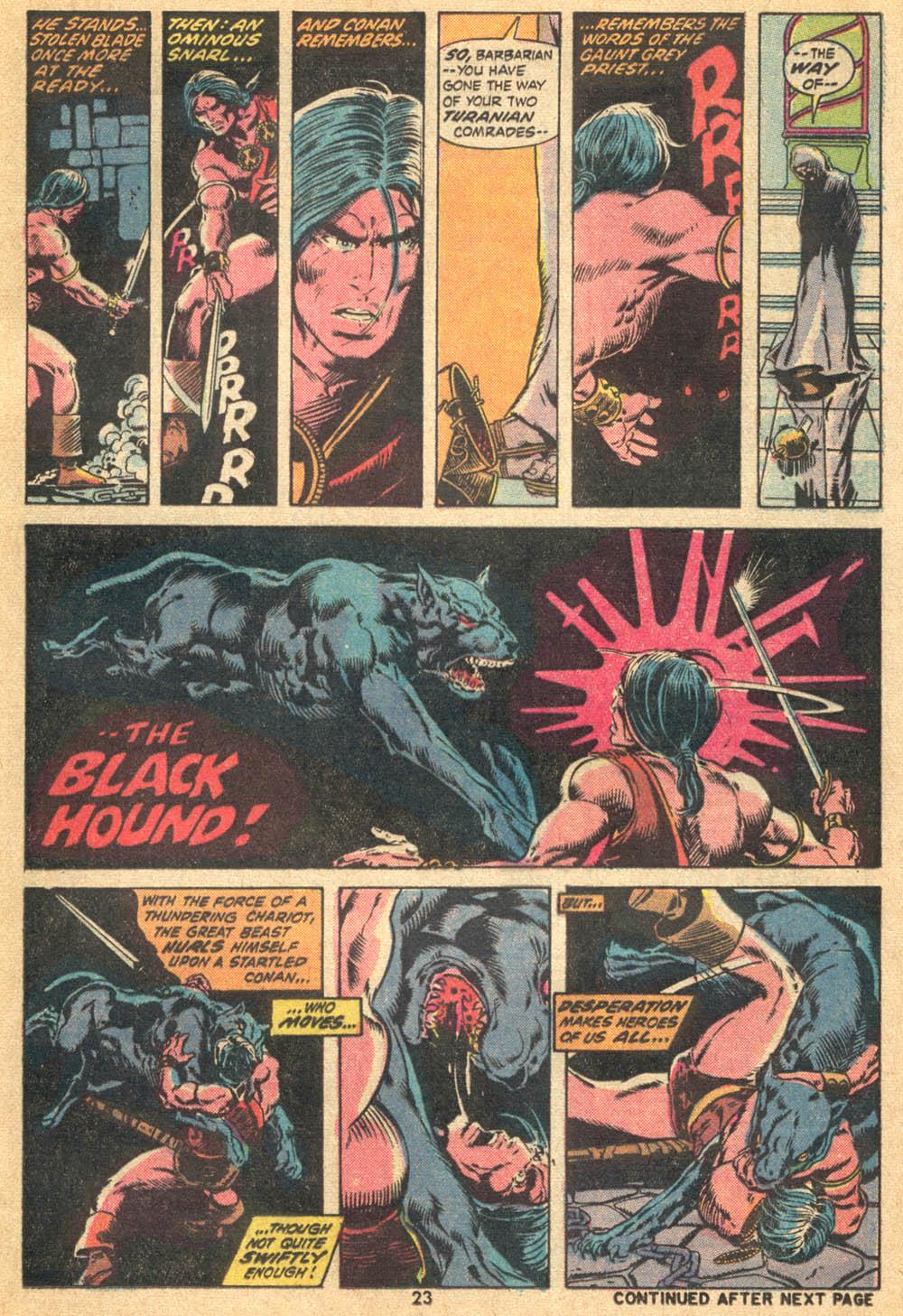 Conan the Barbarian (1970) Issue #20 #32 - English 16