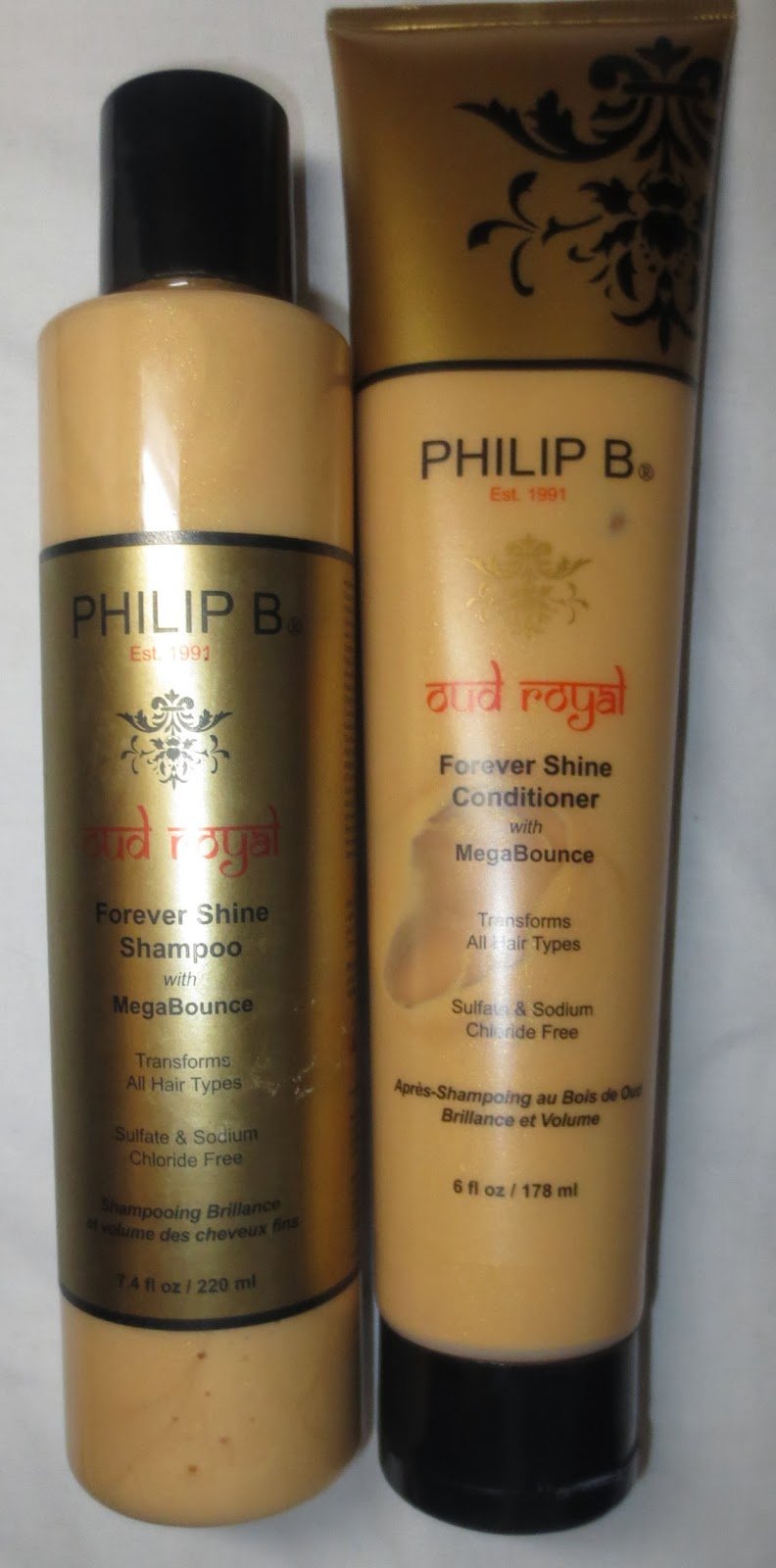Philip B Oud Royal Forever Shine Shampoo & Conditioner