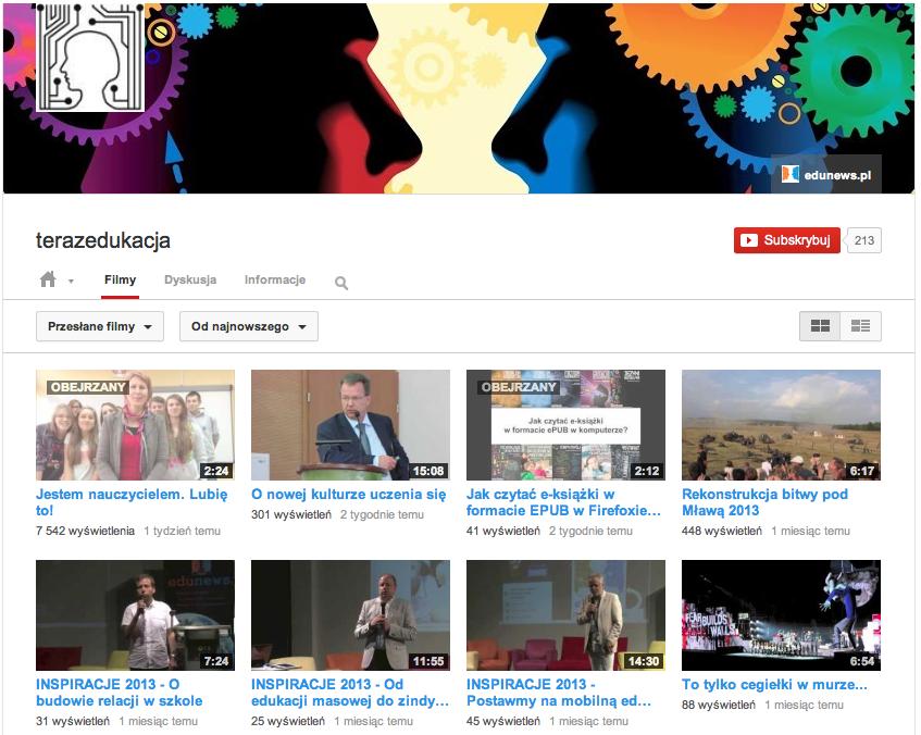 Kanał filmowy o edukacji