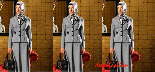 Tips Baju Kerja Muslim Chic 2014