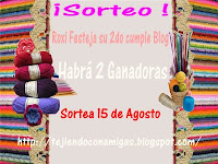 SORTEO 2º CUMPLE BLOG