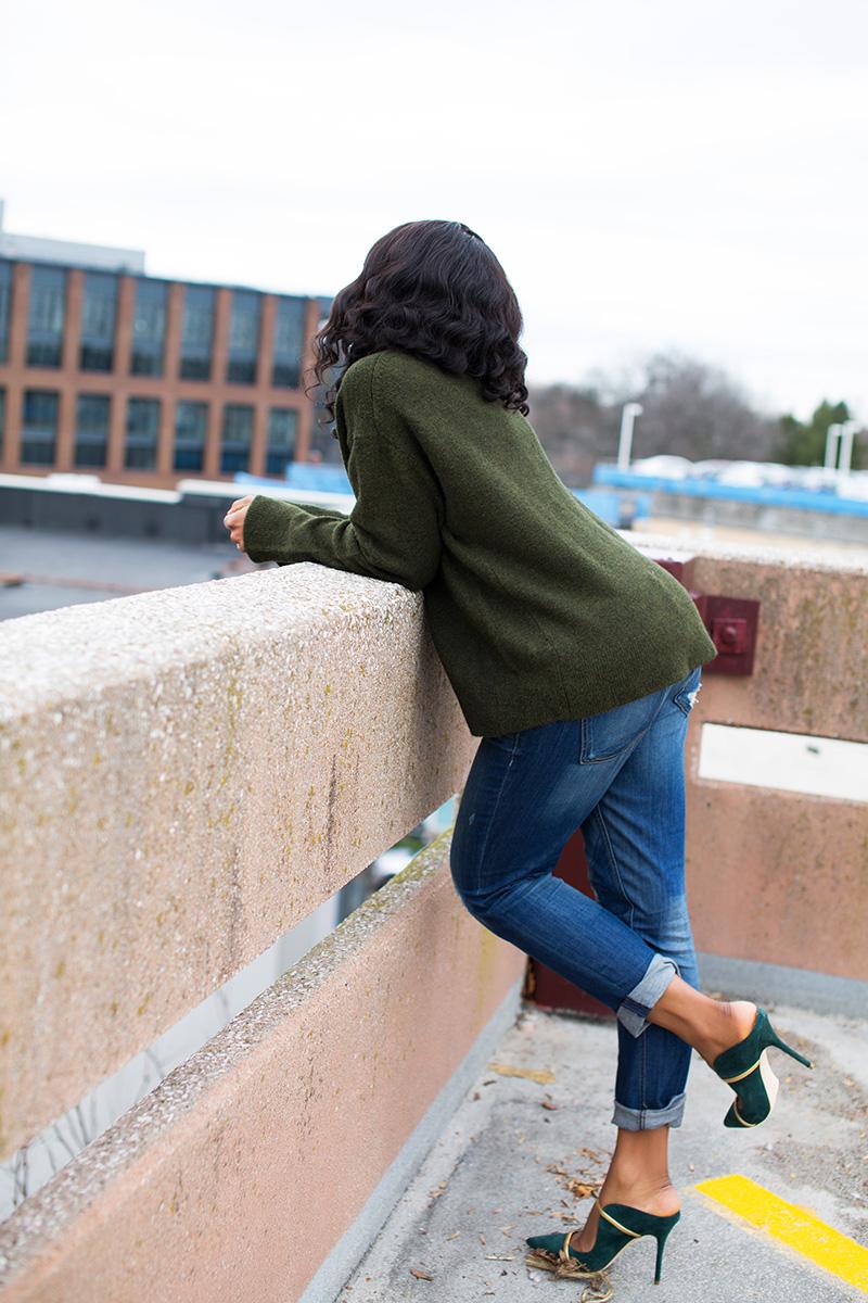 sweater, boyfriend jeans, malone souliers www.jadore-fashion.com