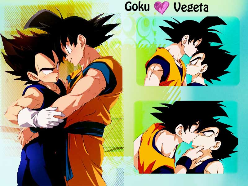 follando vegeta con gay goku