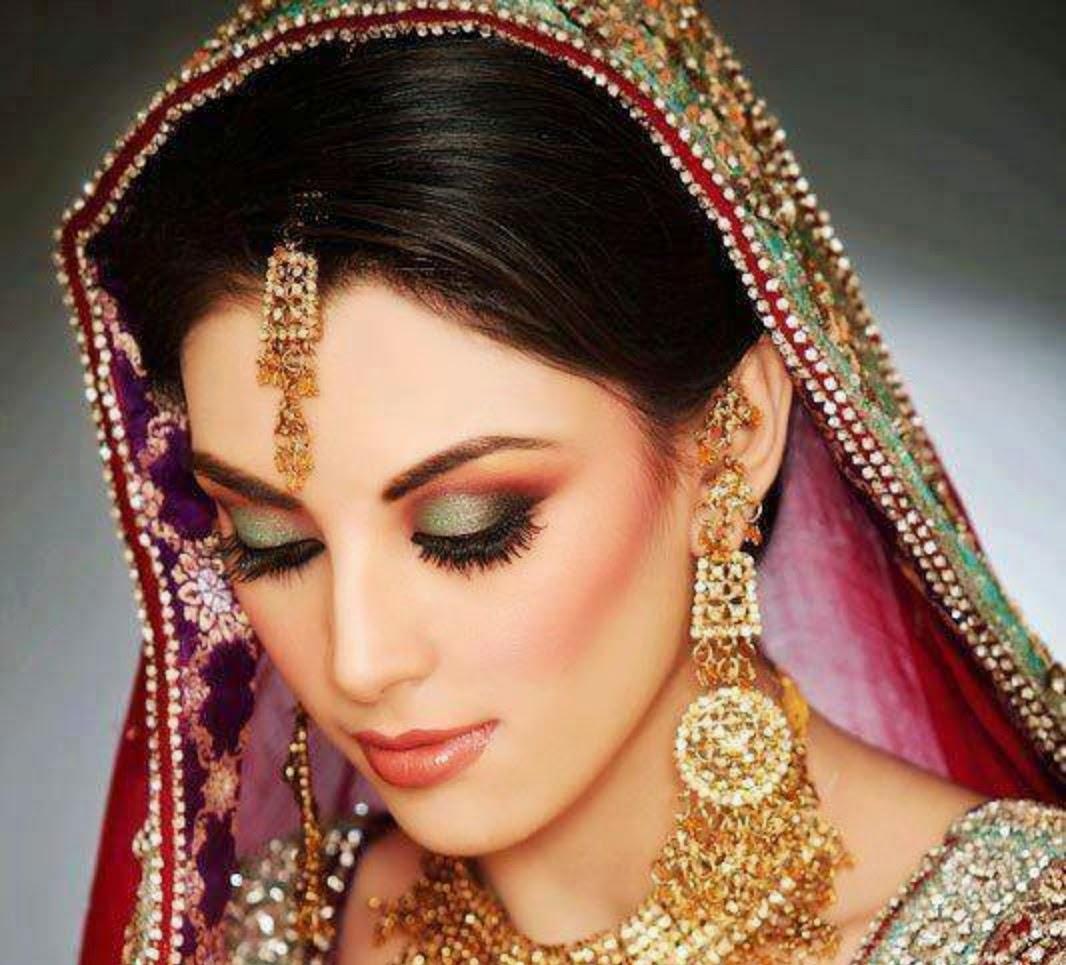 Most Beautiful And New Look Bridal Wedding Makeup 2014 ...