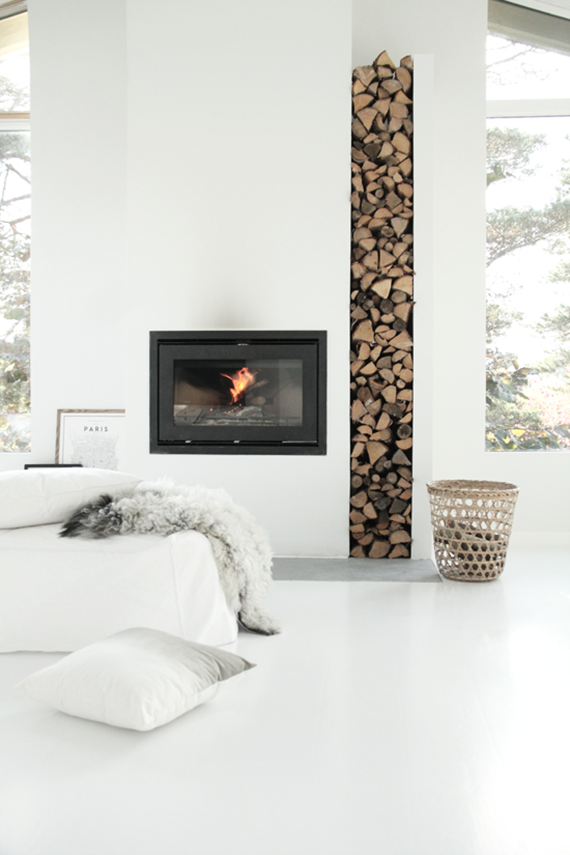 DECOR TREND Minimalist fireplace My Paradissi