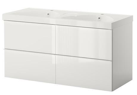 Ikea e momichan bagno da rinnovare for Mobile lavabo e lavatrice