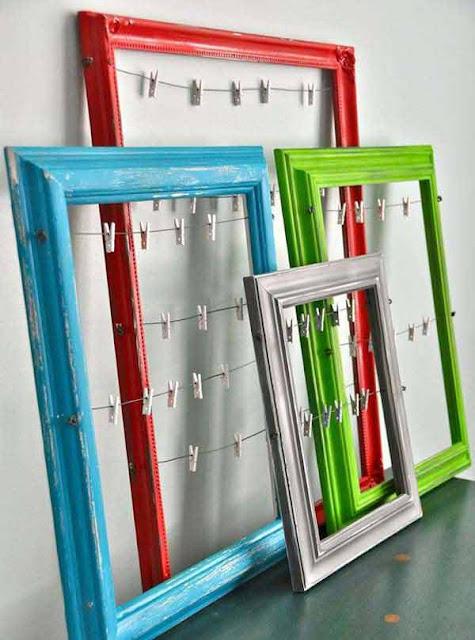 decorar banheiro feio:porta recados, molduras, decorar com moldura, reciclar moldura