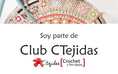 Formo parte del Club Ctejidas 'Crochet y 2 Agujas'