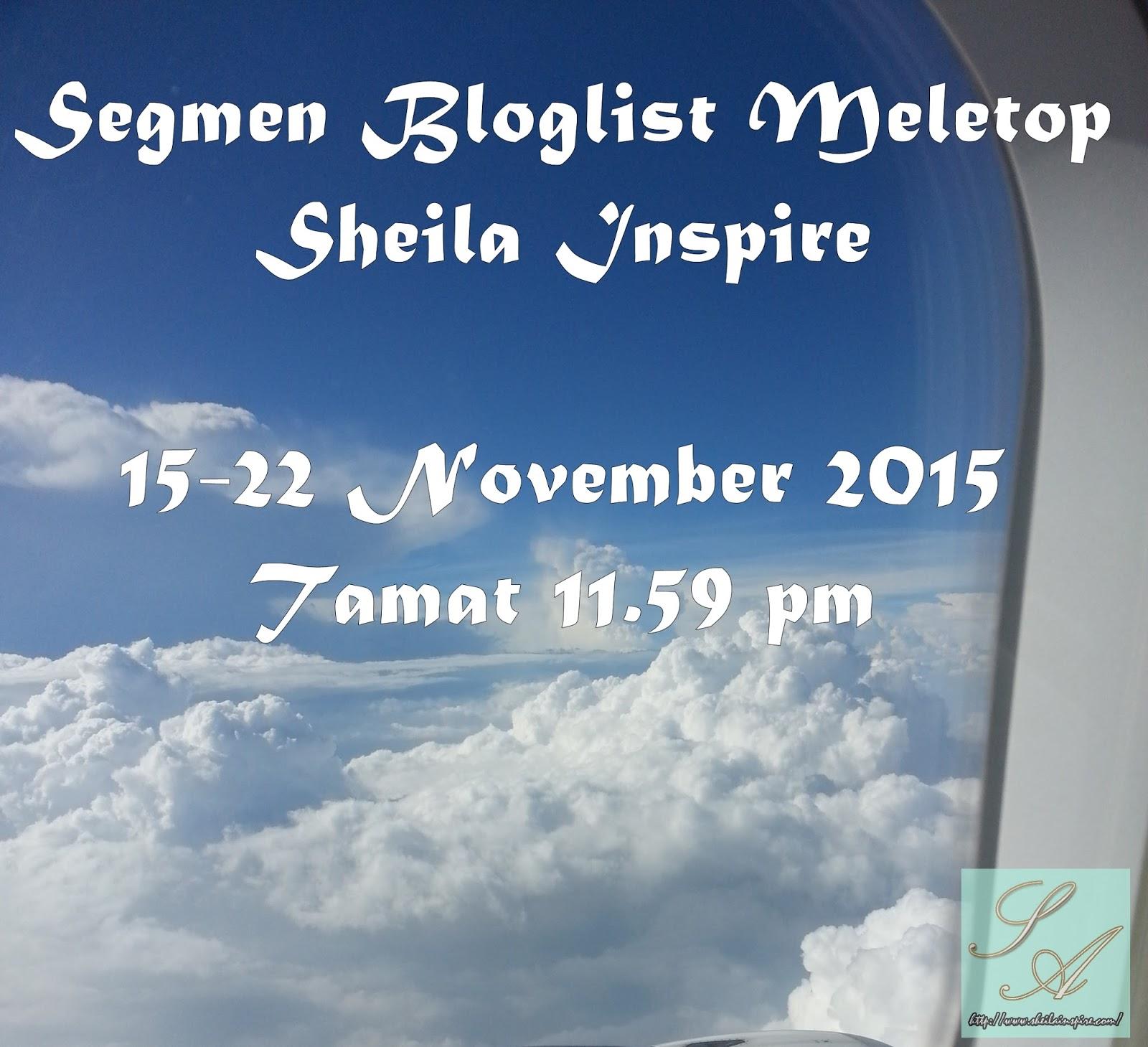Segmen Bloglist Meletop Sheila Inspire