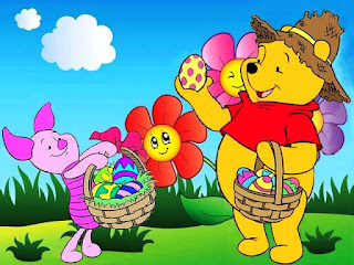 Gambar Winnie The Pooh dan Piglet Wallpaper Lucu