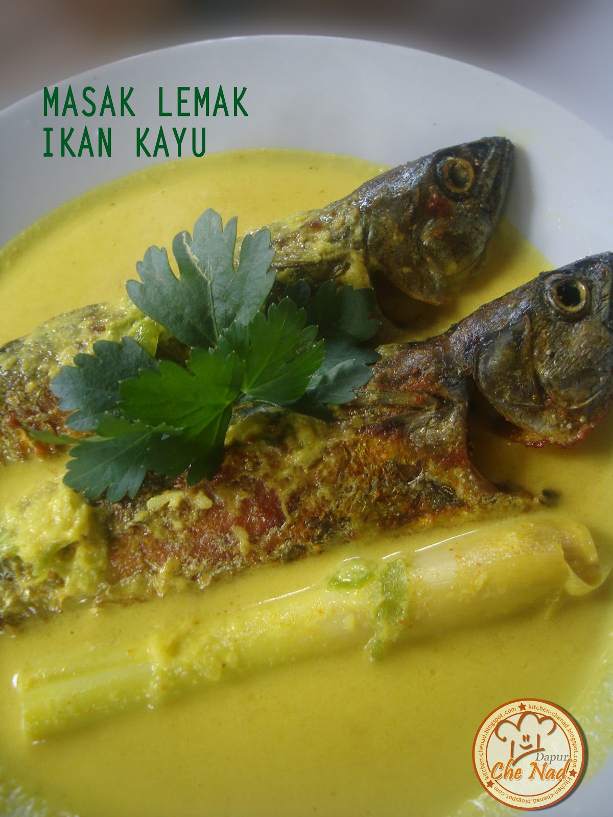 Masak Lemak Ikan Kayu