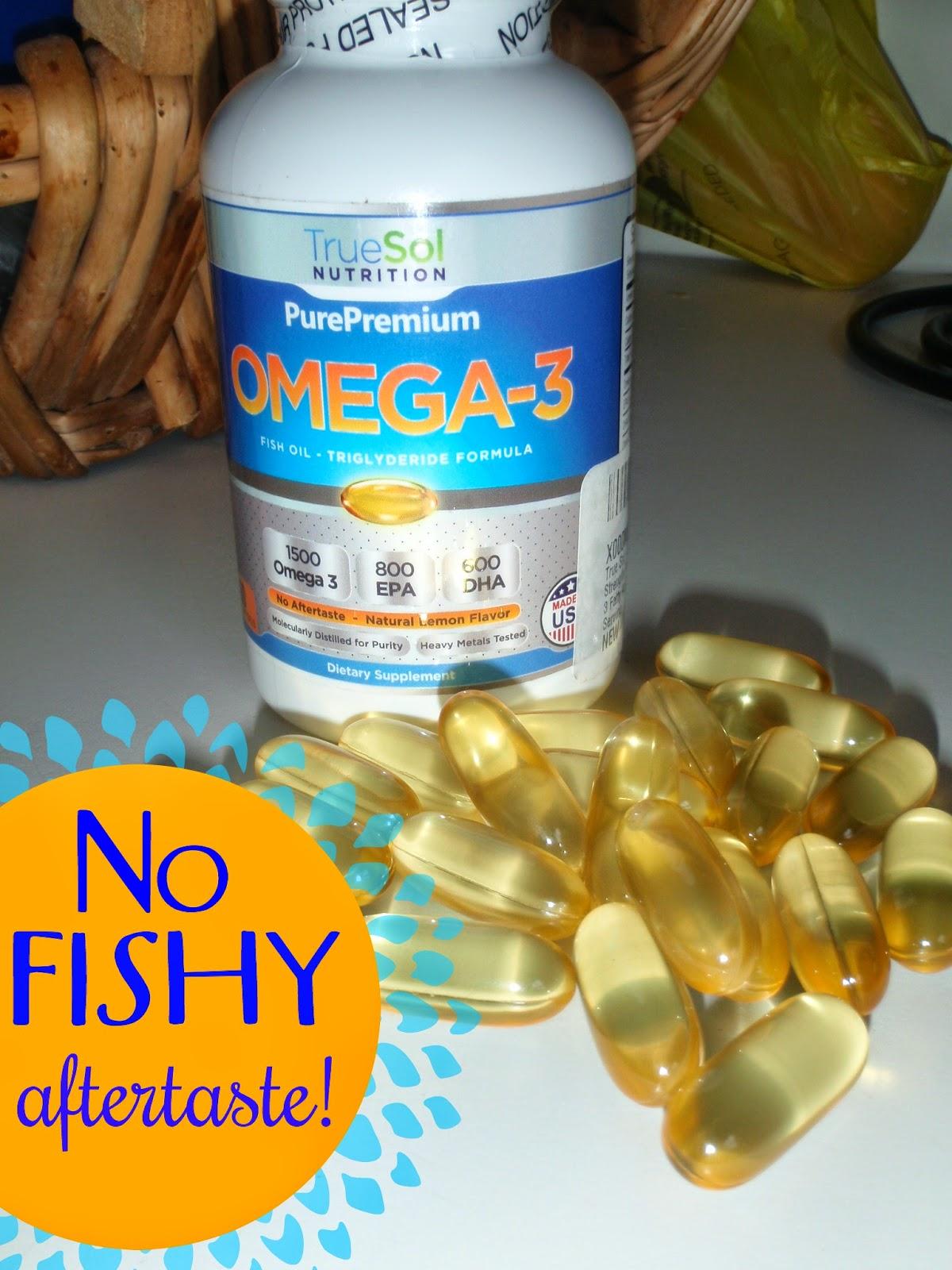 True sol omega 3 fish oil giveaway jays sweet n sour life for Fish oil depression dosage